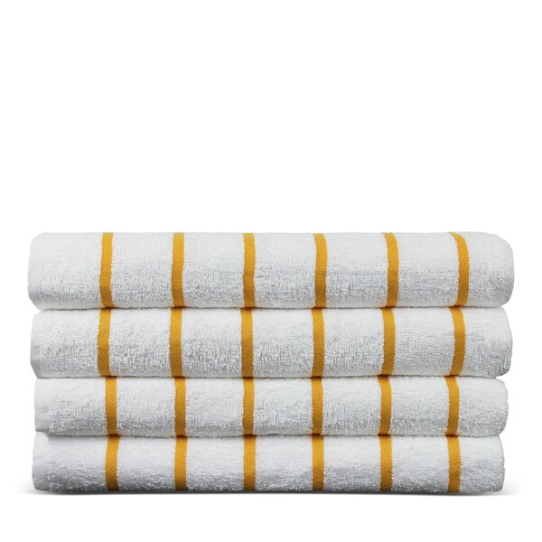 Wellston 100% Cotton Beach Towel (Set of 4) by Winston Porter